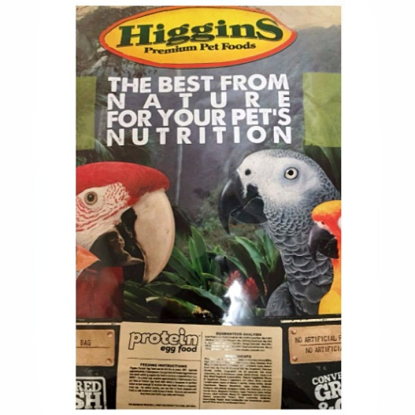 Higgins Protein Egg Food For All Birds 20 lb (9.07 Kg)