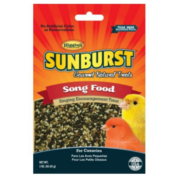 Higgins Sunburst Song Food for Canaries 3 oz (85 g)