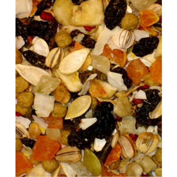 Higgins Sunburst Fruits And Veggies Parrot Treat Large 20 lb (9.07 Kg)