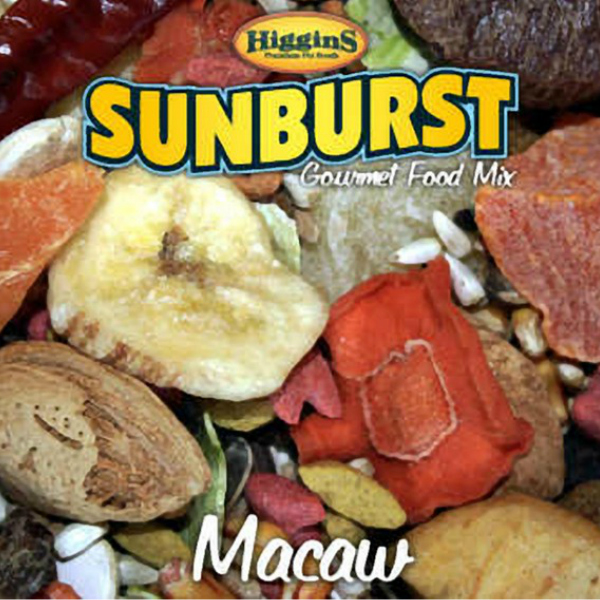 Higgins Sunburst Macaw Size Gourmet Bird Food 25 lb (11.34 Kg)