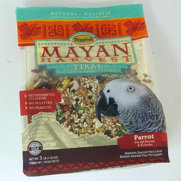 Higgins Mayan Harvest Tikal Large Parrot Food 20 lb (9.07 Kg)