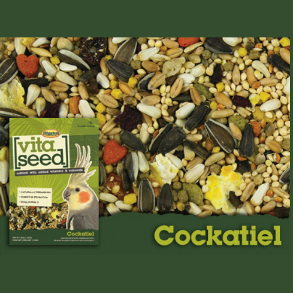 Higgins Vita Cockatiel Specific With Probiotics 5 lb (2.267 Kg)