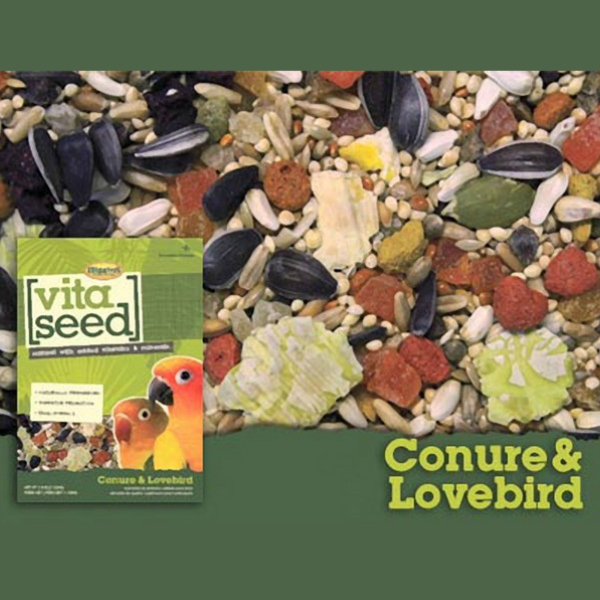 Higgins Vita Conure Lovebird With Probiotics 25 lb (11.34 Kg)