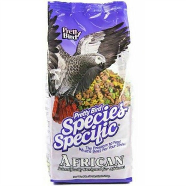 Pretty Bird African Grey & Conure Bird Food Pellets 8 lb (3.6 kg)