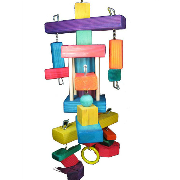 Really Large Bird Toy for Big Parrots The Destructor Challenge