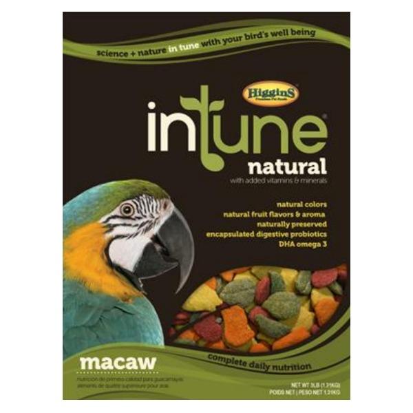 Higgins Intune Bird Food Pellets Macaw 3 lb (1.361 kg)