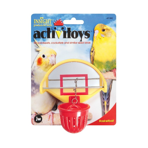 JW Pet Activitoy for Small Birds - Birdie Basketball