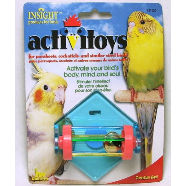 JW Pet Activitoy for Small Birds - Tumble Bell