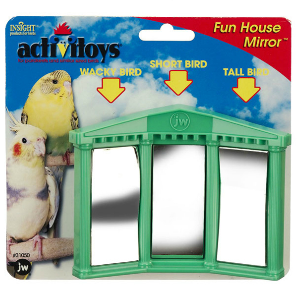 JW Pet Activitoy for Small Birds - Fun House Mirror