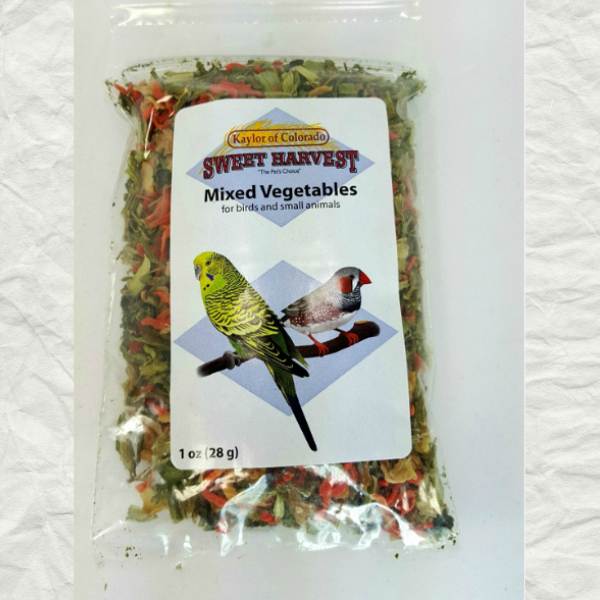 Kaylor's Sweet Harvest Treats Dried Vegetables 1 oz (28 g)