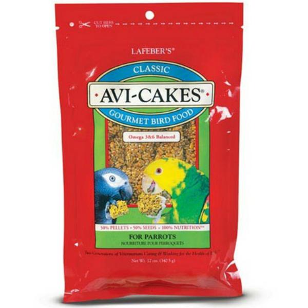 Lafebers Classic Avi-cakes Parrot 12 oz (341 G)