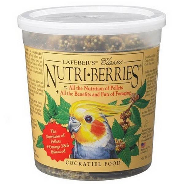 Lafebers Classic Cockatiel Nutri-berries 12 oz (341 G)