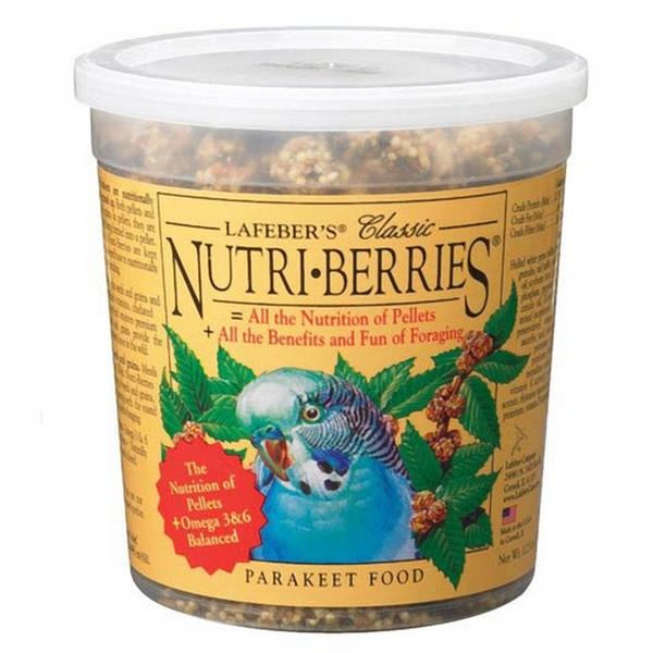 Lafebers Classic Parakeet Nutri-berries 12 oz (341 G)