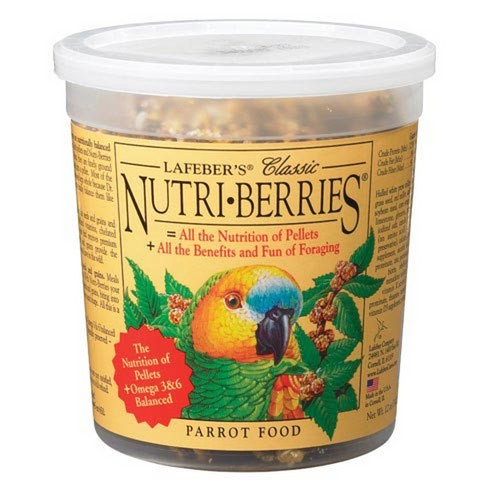 Lafebers Classic Parrot Nutri-berries 12 oz (341 G)