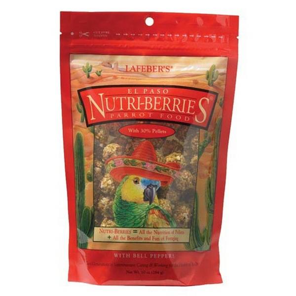 Lafebers Gourmet El Paso Nutri-berries Parrot 10 oz (234 G)