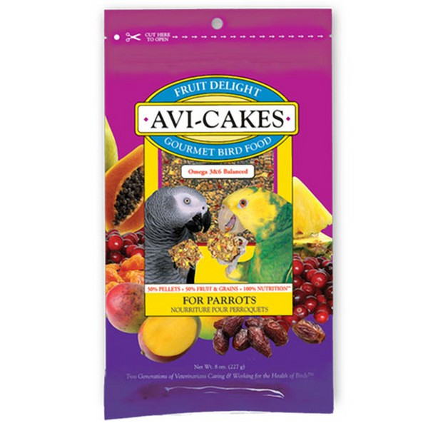 Lafebers Fruit Delight Avi-cakes Parrot 8 oz (227 g)