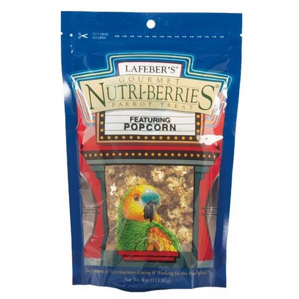 Lafebers Gourmet Popcorn Nutri-berries Parrot 4 oz (113.5 G)