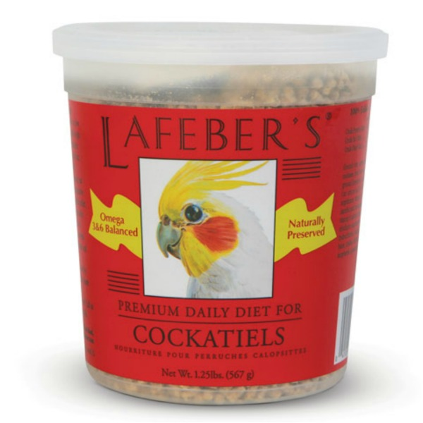 Lafeber's Premium Daily Diet Pellets for Cockatiels 1.25 lb