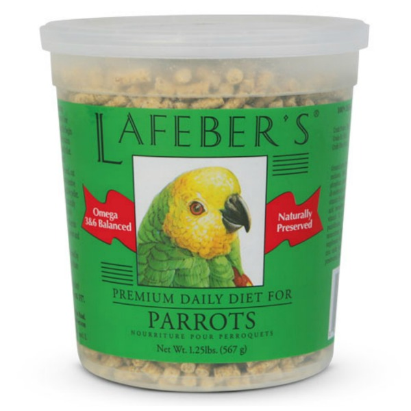 Lafeber's Premium Daily Diet Pellets for Parrots 1.25 lb
