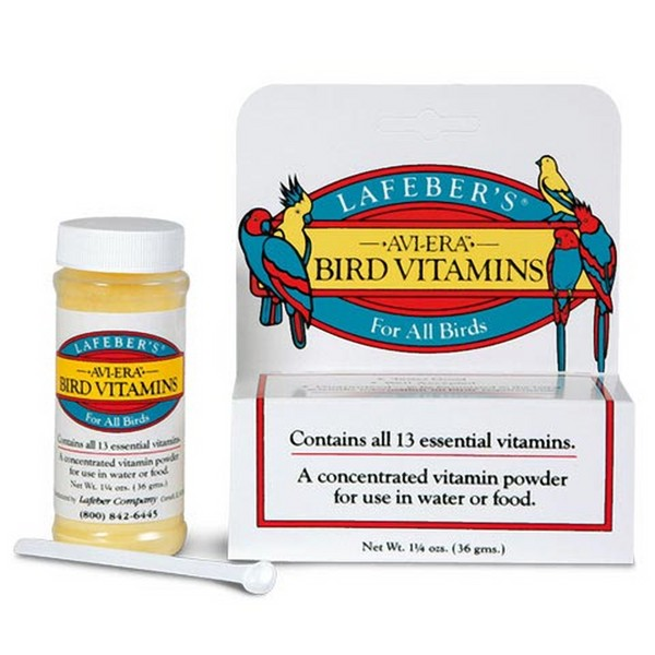 Avi-Era Bird Vitamins by Lafebers 1.25 oz (36 G)