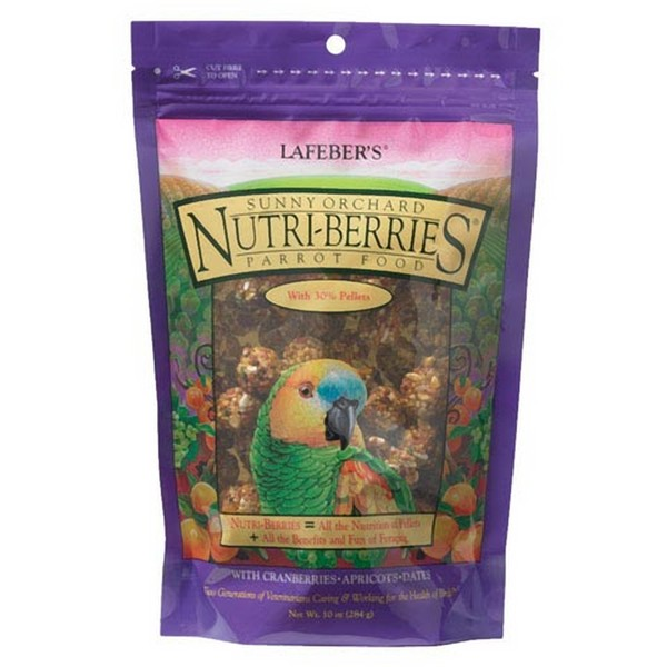 Lafebers Gourmet Sunny Orchard Nutri-berries Parrot 10 oz (234 G)