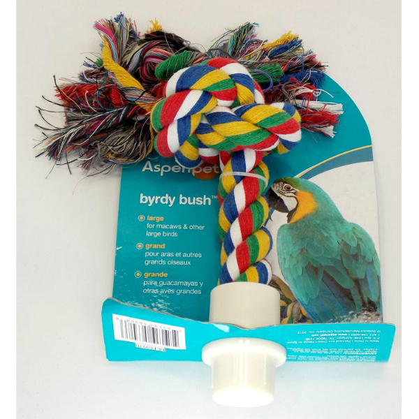 Comfy Rope Booda Byrdy Bush Preening Perch Large 8""