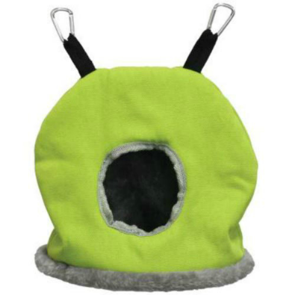 Warm Snuggle Sack for Birds by Prevue Large Green