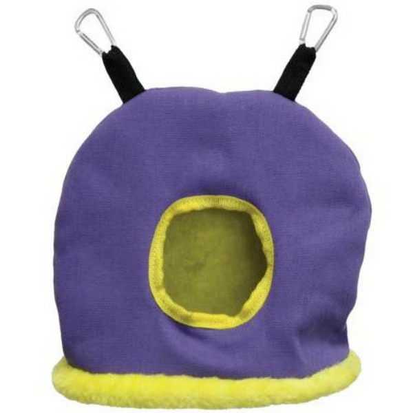 Warm Snuggle Sack for Birds by Prevue Large Purple