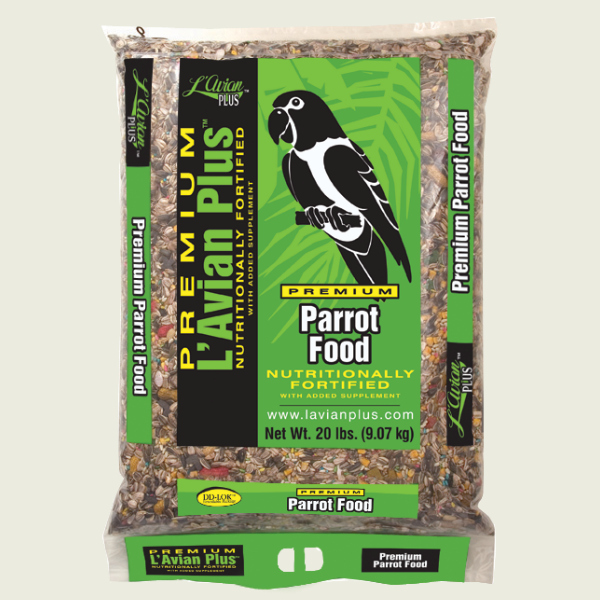 L'Avian Parrot Food Plus Premium Seed Mix 20 lb (9.07 Kg)