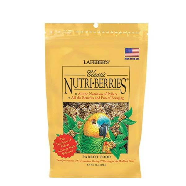 Lafebers Classic Parrot Nutri-berries 10 oz (234 G)