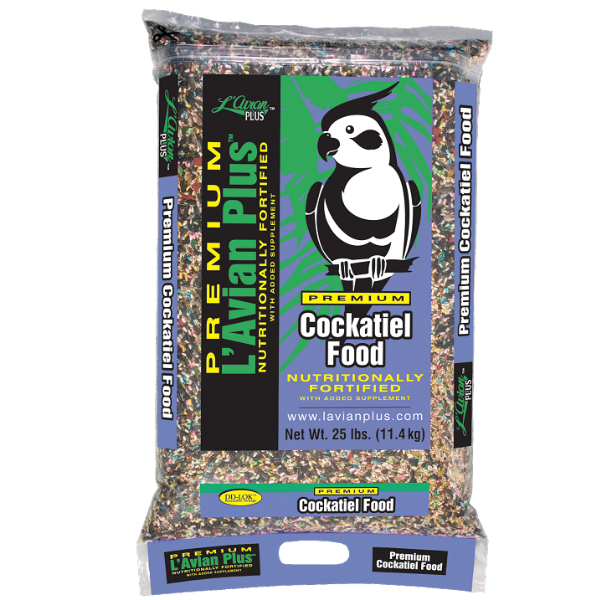 L'Avian Cockatiel Food Plus Premium Seed Mix 25 lb (11.34 Kg)