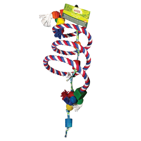 Bungee Play Soft Rope Perch by Living World