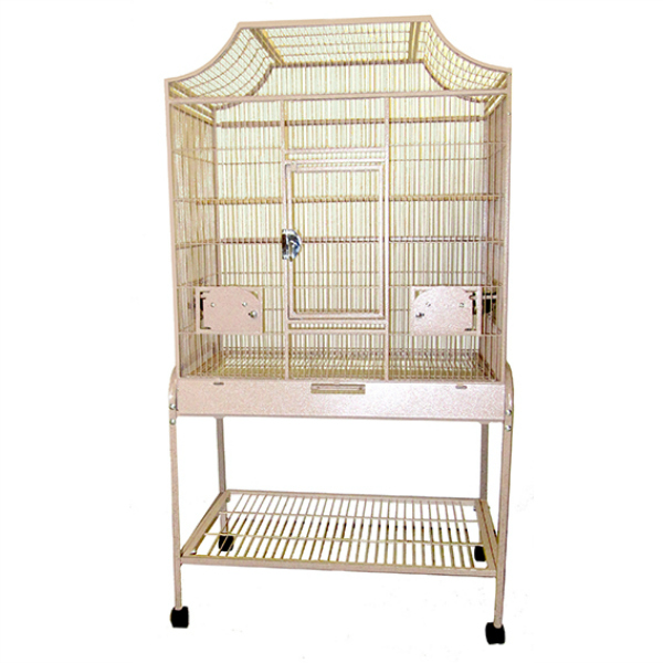 Elegant Top Flight Cage for Smaller Birds by AE MA3221FL Sandstone
