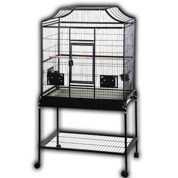Elegant Top Flight Cage For Small Parrots By AE MA2818FL Black
