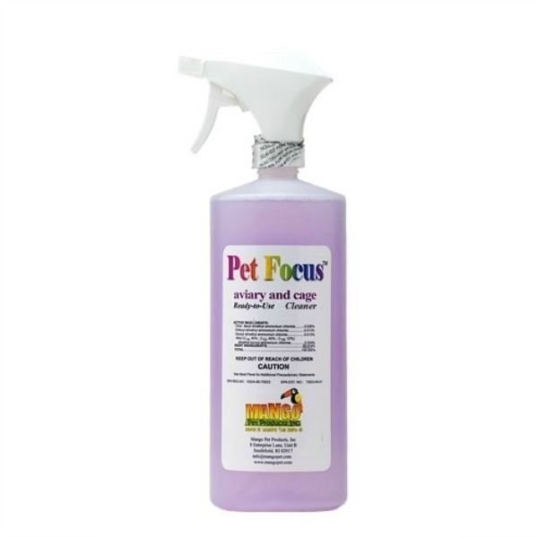 Mango Pet Focus Cleaner & Sanitizer Ready To Use Spray 32 oz