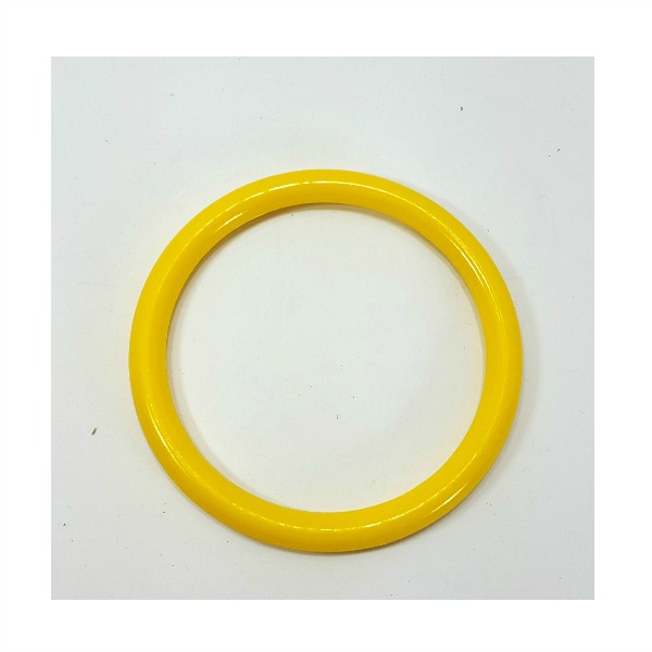 "Marbella Style Ring for Bird Toys Crafts 5"" Yellow 1 pc"