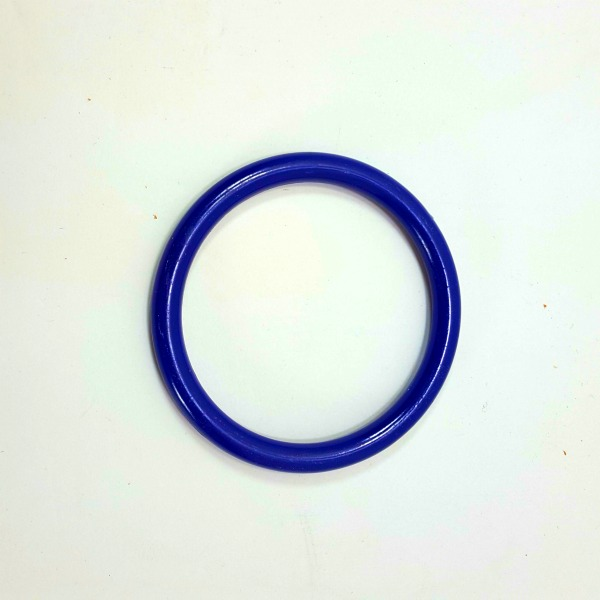 """Marbella Style Ring for Bird Toys Crafts 4"""" Blue 1 pc"""
