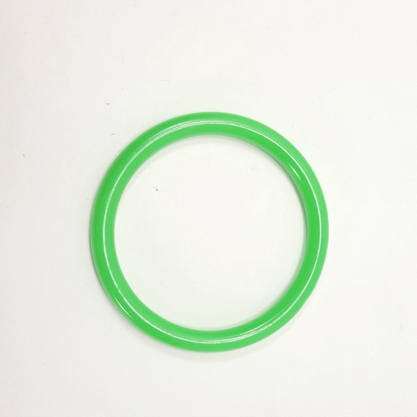 "Marbella Style Ring for Bird Toys Crafts 4"" Green 1 pc"