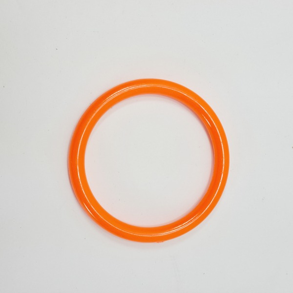 "Marbella Style Ring for Bird Toys Crafts 4"" Orange 1 pc"