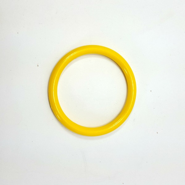 "Marbella Style Ring for Bird Toys Crafts 4"" Yellow 1 pc"