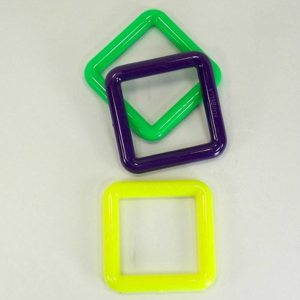 Marbella Style Squares for Bird Toys 3 Inch 3 pc
