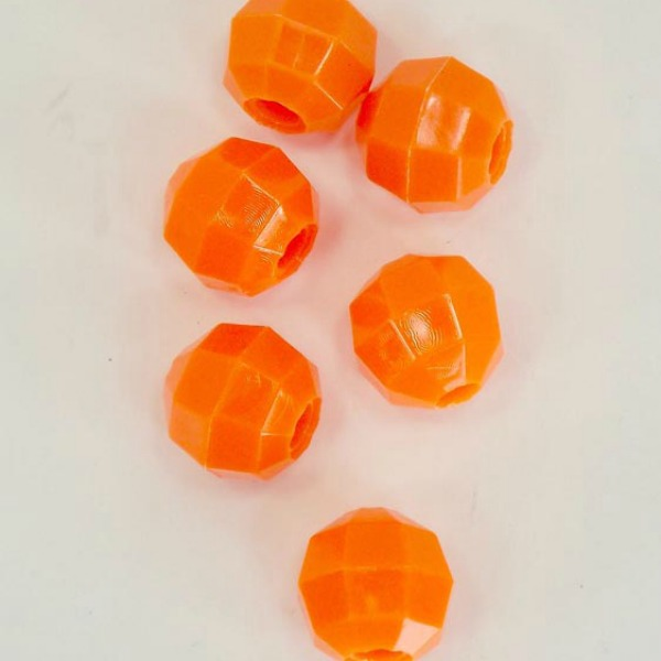 Marbella Style Octagon Beads for Bird Toys 22 mm 6 pc