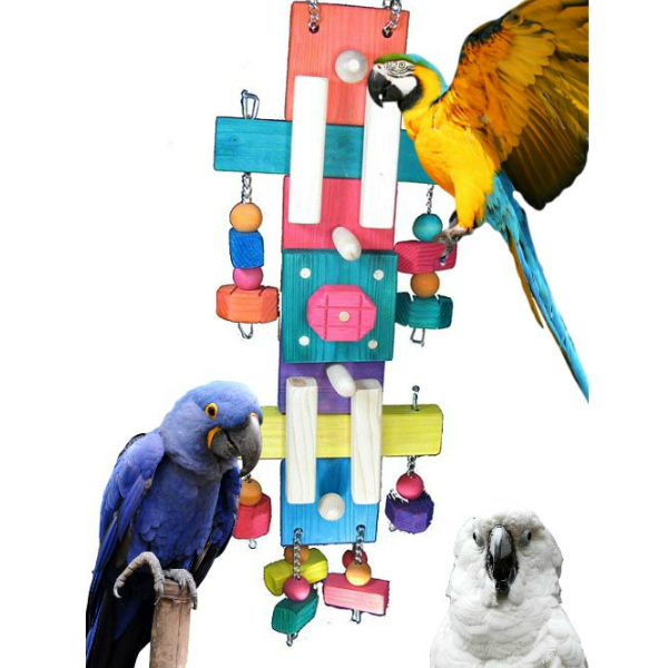 Really Large Bird Toy for Big Parrots The Modernization