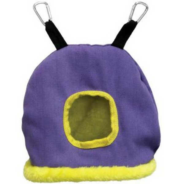 Warm Snuggle Sack for Birds by Prevue Medium Purple