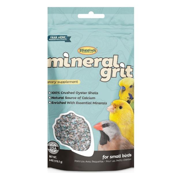 Higgins Sunburst Mineral Grit For Small Birds 6 oz (170 g)