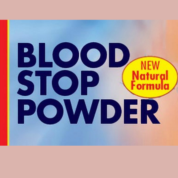 Morning Bird Natural Blood Stop Powder 1.5 Oz (14.2 G)