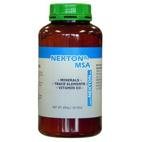 Nekton MSA Powder High-Grade Mineral Supplement 850 g (1.87 lb)