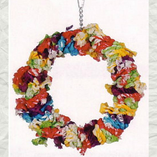 Cotton Rope Wreath Swing by Paradise - Large 12""