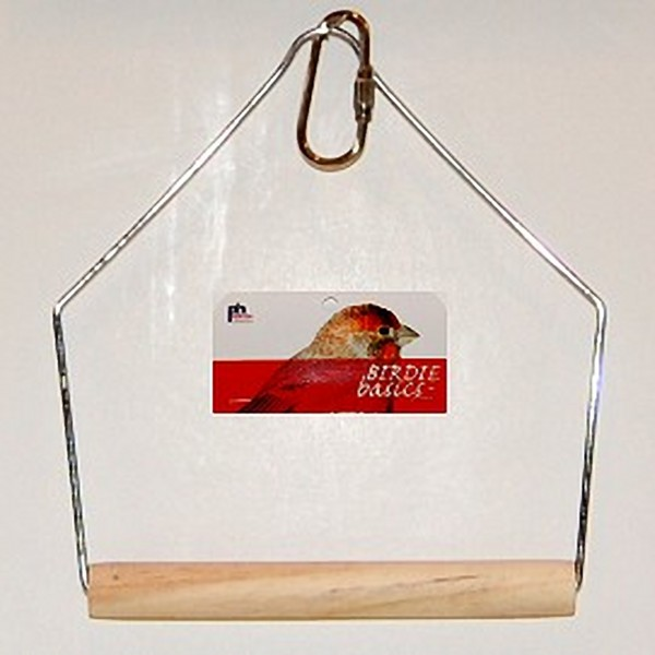 Birdie Basics Swing by Prevue Pet for Parakeet Canary 4x5