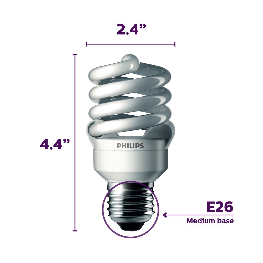 Full Spectrum Economy Daylight Bulb 100 Watt (uses 23W)
